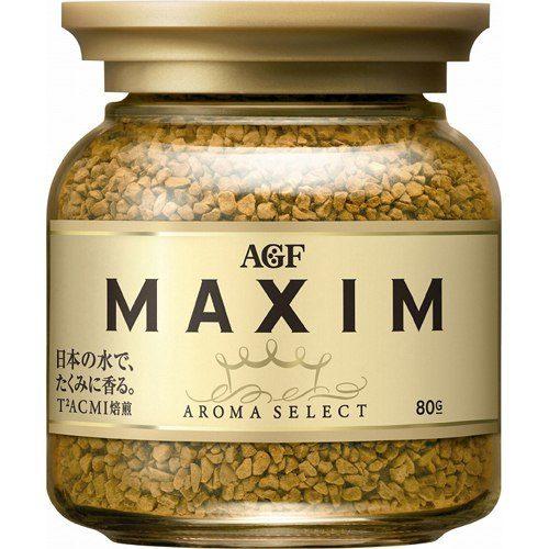 AGF Maxim Растворимый кофе в банке, 80 г