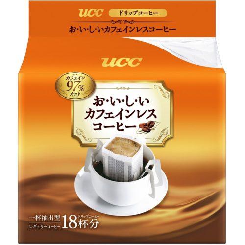UCC Бескофеиновый кофе Drip coffee, 18 дрип пакетиков