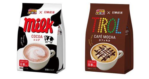 Какао Milk и Мока Tirol, 8 стиков в упаковке