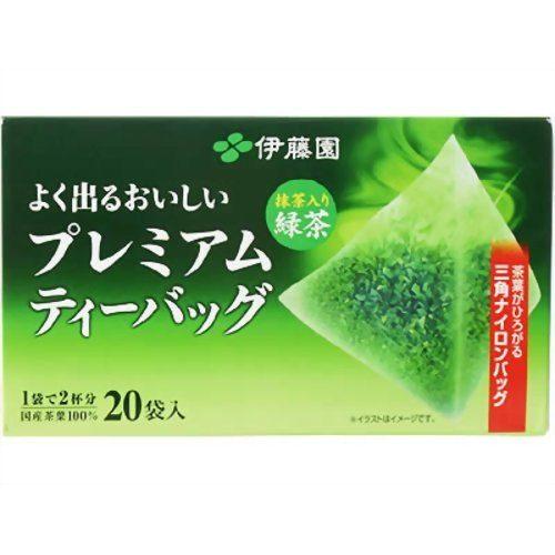 ITO EN Зеленый чай Рёкутя (с добавлением маття) в треугольничках
