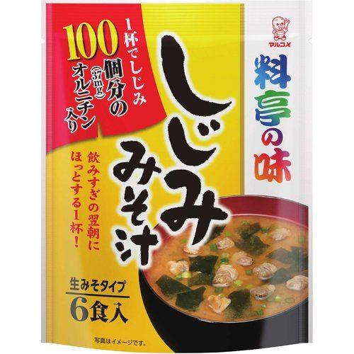 Marukome Суп Мисо с моллюсками, 6 порций