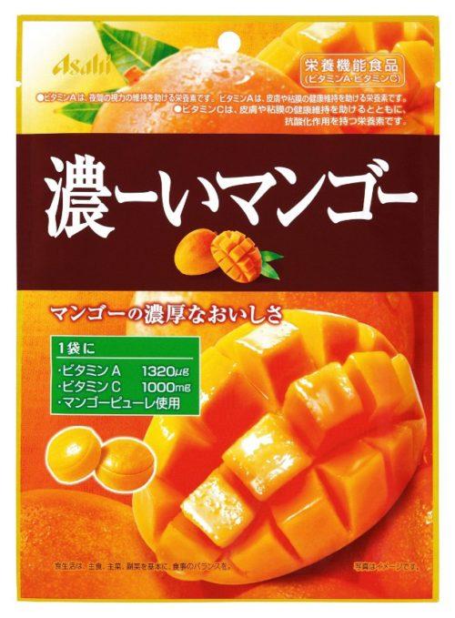 Asahi Леденцы Концентрированное манго, 88 г