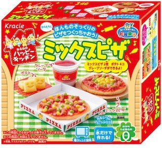 Kracie Happy Kitchen Набор для детей «Сделай сам» Микс пицца