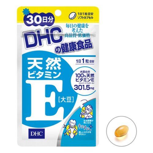 DHC Природный витамин Е (соевый)