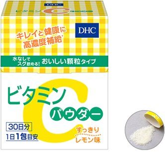 DHC Витамин С в порошке, 30 пакетиков на 30 дней