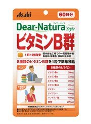 Asahi Dear Natura Витамины группы B, курс 20/60 дней