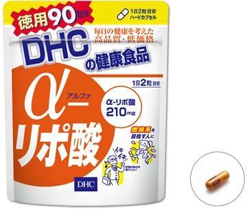DHC Альфа-липоевая кислота, курс на 30/60/90 дней