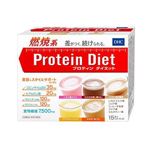 DHC Протеиновая диета (15 пакетиков)