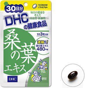 DHC Экстракт листьев шелковицы (тутового дерева), курс 30 дней