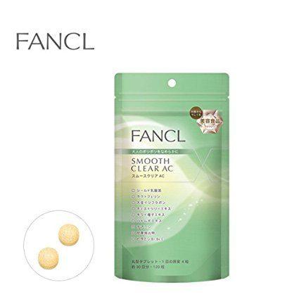 FANCL Smooth clear AC Добавка для проблемной кожи, курс 30 дней