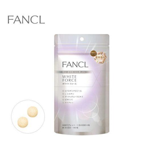 FANCL White force Добавка против пигментации, отбеливающая кожу, курс 30 дней