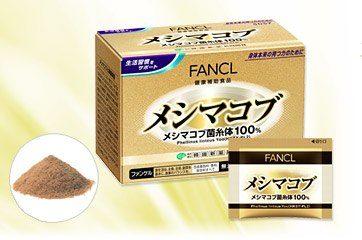 FANCL Гриб Meshimakobu, курс 10-30 дней, 30 пакетиков с порошком