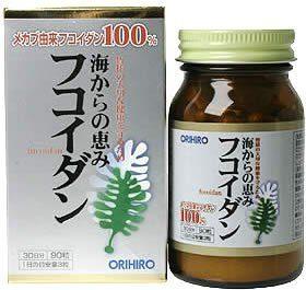 ORIHIRO Фукоидан, 90 таб., курс 30 дней