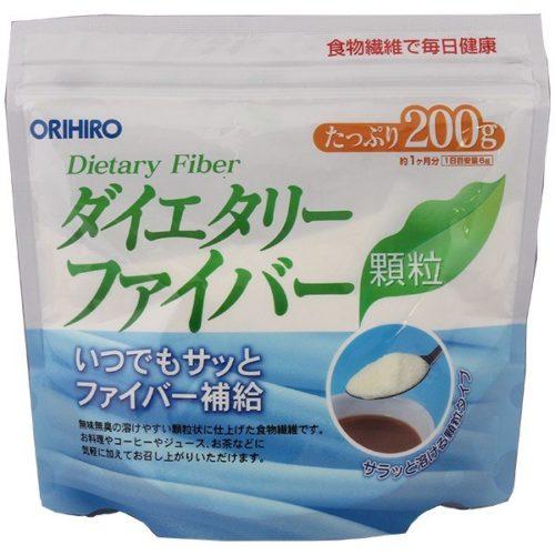 ORIHIRO Клетчатка (пищевые волокна) в порошке, 200 г