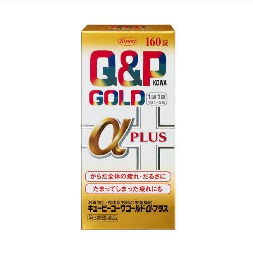 Q&P Kowa Gold α Plus Комплекс от хронической усталости и упадка сил, 160/260 табл.