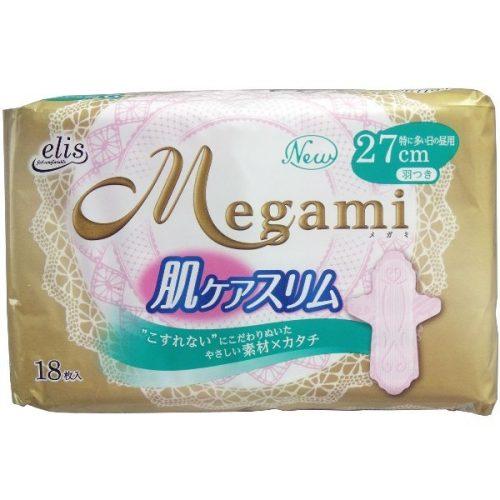 Elis Megami Женские гигиенические прокладки Тонкие