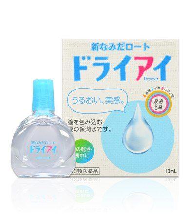 Капли для глаз Namida ROHTO Dry eye, 13 мл, с гиалуронатом натрия, индекс свежести 1