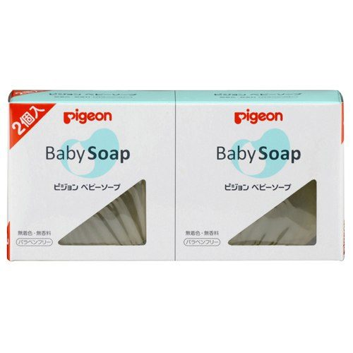 Pigeon Детское мыло (2 шт. по 90 г каждое)