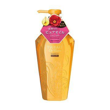 Shiseido TSUBAKI Oil Extra Бессиликоновый шампунь для поврежденных волос, 450 мл