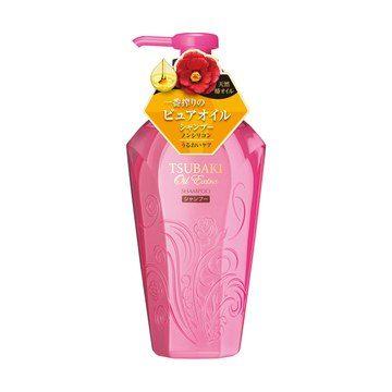 Shiseido TSUBAKI Oil Extra Бессиликоновый шампунь Баланс увлажнения, 450 мл