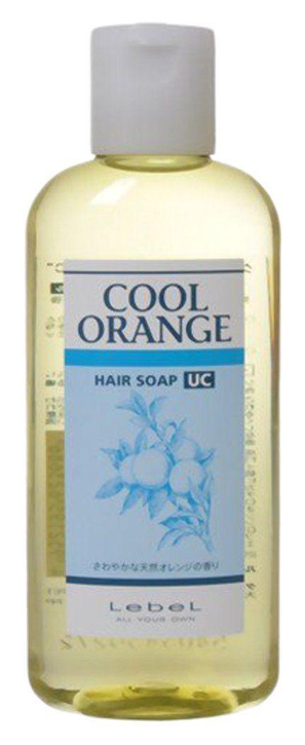 Lebel Cool orange hair soap Шампунь Холодный апельсин, 200 мл