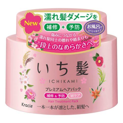 Kracie ICHIKAMI Премиум маска для восстановления волос, 180 г