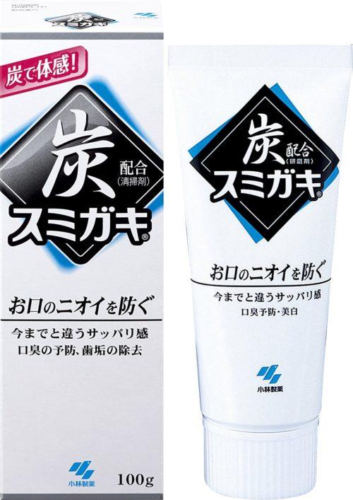 Kobayashi Sumigaki Угольная зубная паста, 100 г