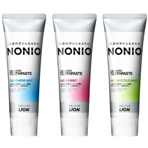 LION NONIO Зубная паста против неприятного запаха изо рта, 130 г
