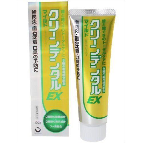 Зубная паста Daiichi Sankyo Clean dental EX с мягким ароматом лимона