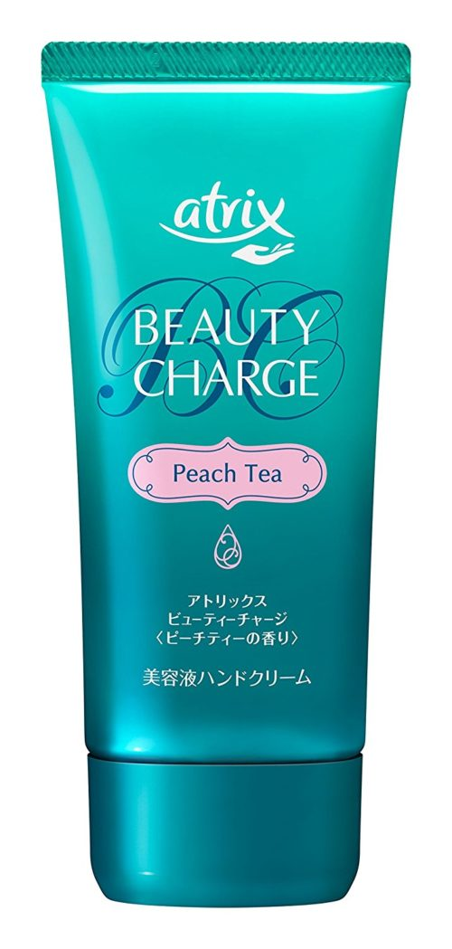 Atrix Beauty Charge Peach Tea Крем для рук с ароматом персикового чая, 80 гр
