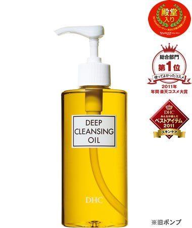 DHC Deep cleansing oil, глубоко очищающее масло для умывания