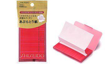 Shiseido Матирующие салфетки, 90 шт.