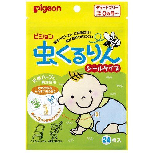 Pigeon Наклейки для защиты от насекомых для детей