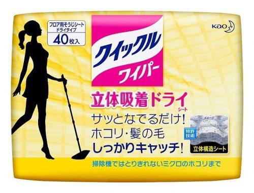 KAO Quickle Сухие салфетки для пола, 40 шт.