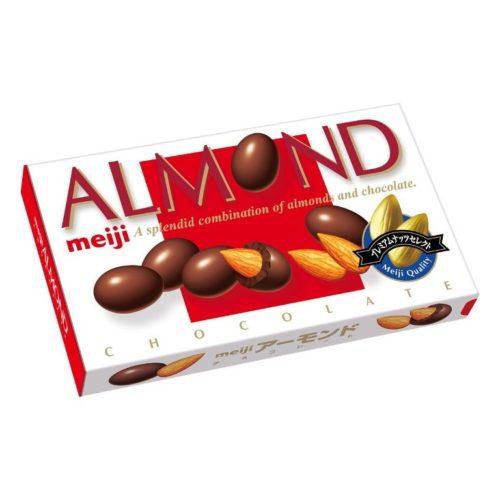 Meiji Almond Миндаль в шоколаде, 88 г