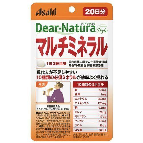 Asahi Dear Natura Мультиминералы, курс на 20 дней