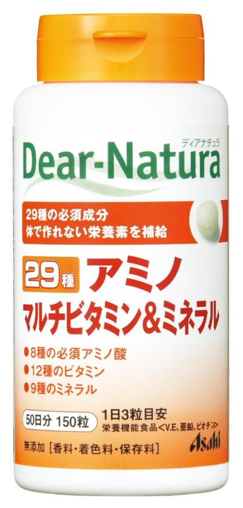 Dear Natura Asahi, 29 Амино, мультивитамины и минералы, курс 30/50/100 дней