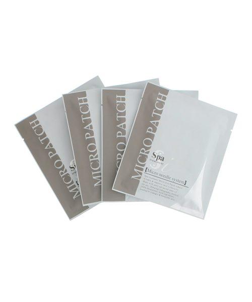 Spa Treatment i Micro Patch Гиалуроновые патчи под глаза с микроиглами, 4 пары (8 шт.)