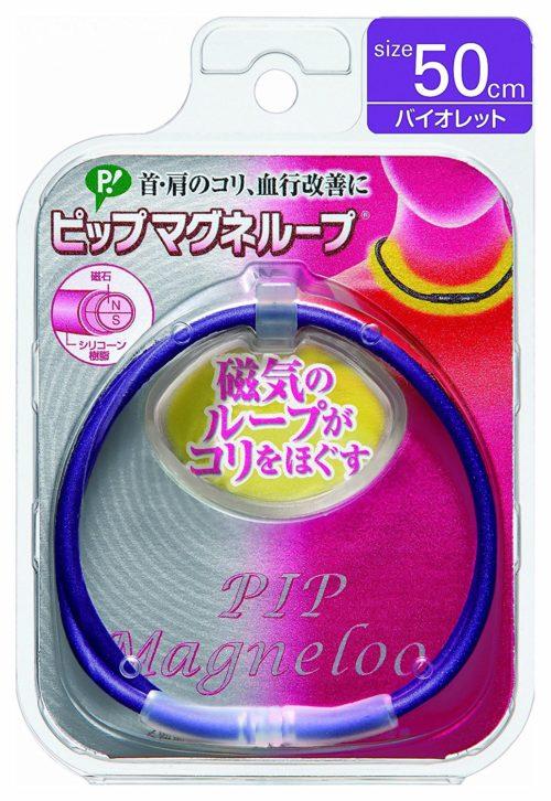 Magneloop Браслет магнитный на шею, фиолетовый