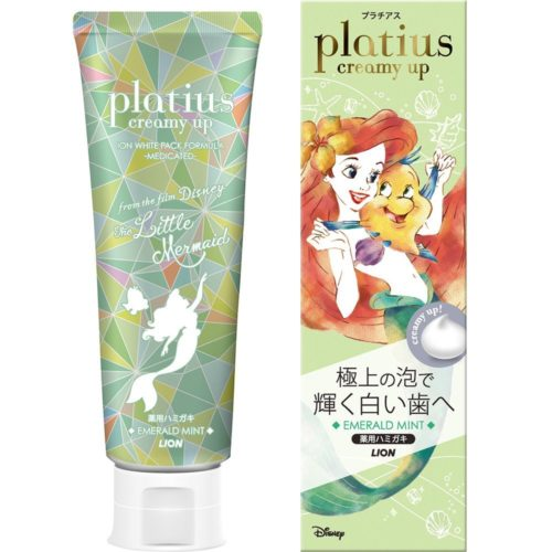 LION Platius Creamy up Зубная паста с отбеливающим эффектом, 90 г