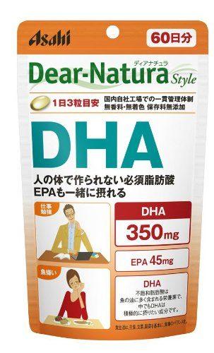 Asahi Dear Natura DHA (с EPA), курс 20/60 дней