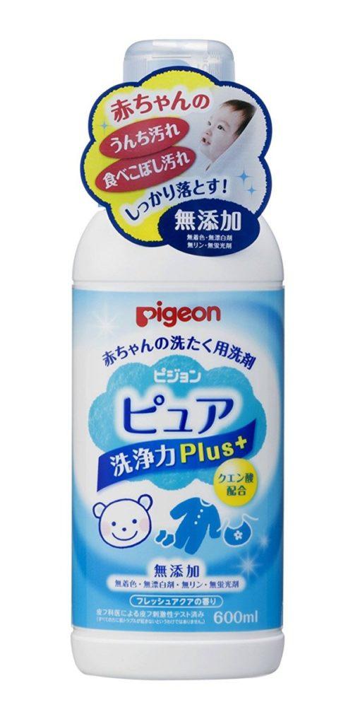 Pigeon Baby Laundry Средство для стирки детской одежды без добавок, 600 мл
