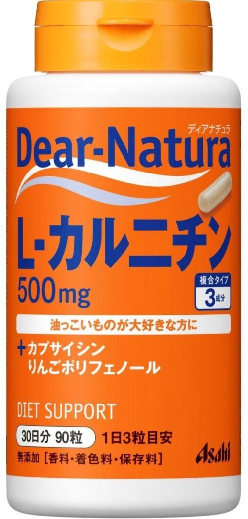 Asahi Dear Natura L-Карнитин, 90 табл., курс 30 дней