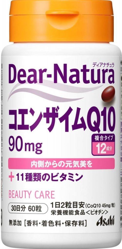 Asahi Dear Natura Коэнзим Q10 +11 видов витаминов, 60 таб. на 30 дней