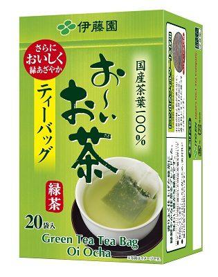 ITO EN Зеленый чай в пакетиках, 20 шт.