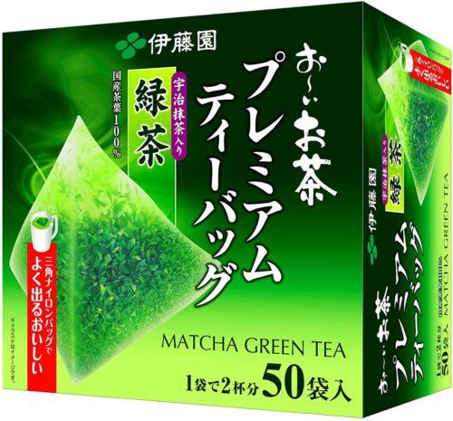 ITO EN Премиум Зеленый чай (входит Удзи маття) в треугольничках