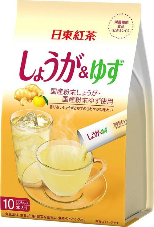 Mitsui Norin Напиток Имбирь с юдзу, 10 пакетиков