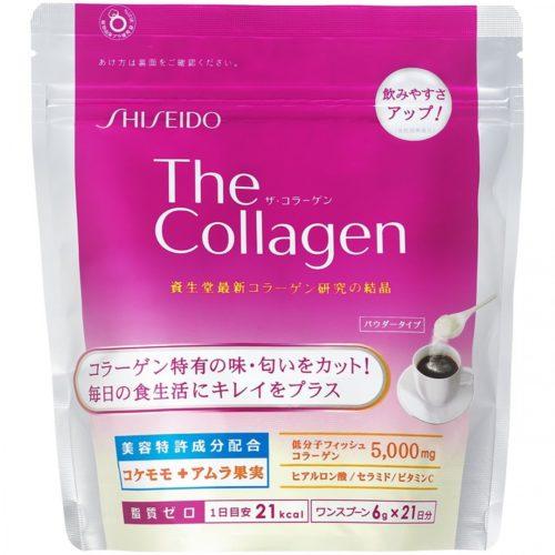 Shiseido The Collagen Коллаген в порошке, 126 г, курс 21 день