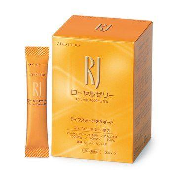 Shiseido RJ Royal Jelly Пчелиное молочко в стиках, курс 30 дней