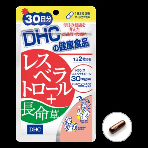 DHC Ресвератрол + горичник, курс 30 дней